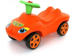 Wader Odrážedlo My Lovely Car se zvukem (oranžová)