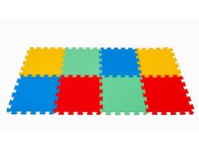Pěnové puzzle koberec 8 dílků tl.16mm