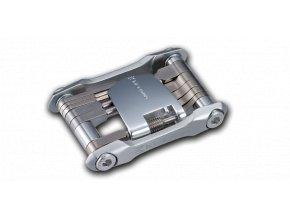 Multiklíč Birzman Feexman Alunimium, stříbrný, 12 funkcí
