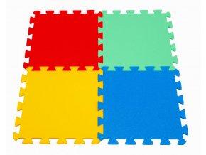 Pěnové puzzle koberec 4 dílky
