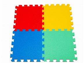 Pěnové puzzle koberec 4 dílky tl.16mm
