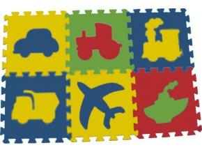 Pěnový koberec puzzle Doprava tl.16mm