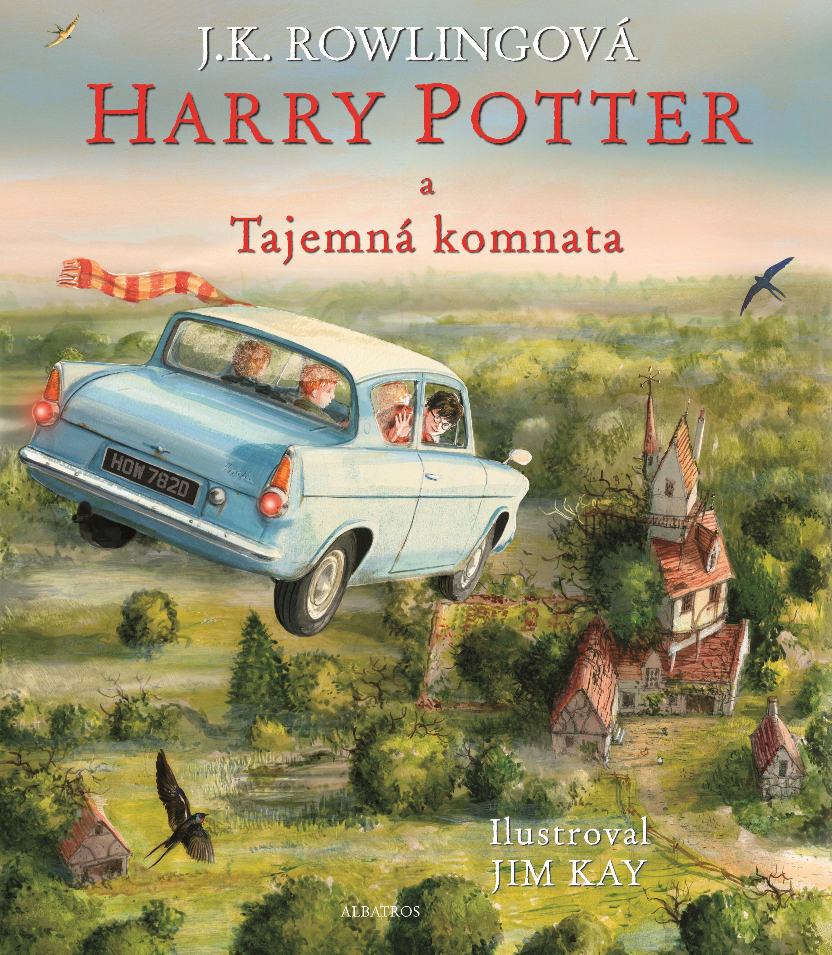 Harry Potter a Tajemná komnata - ilustrované vydání J. K. Rowlingová