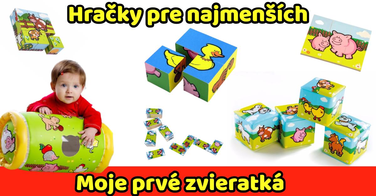Hračky pre najmenších MOJE PRVÉ ZIERATKÁ