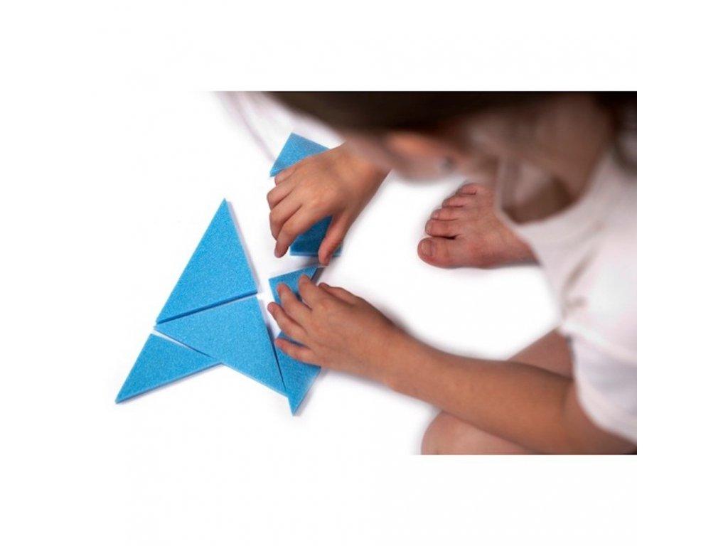 Penový Tangram malypretekar didaktické hračky penové hračky liesek hračky hračkárstvo