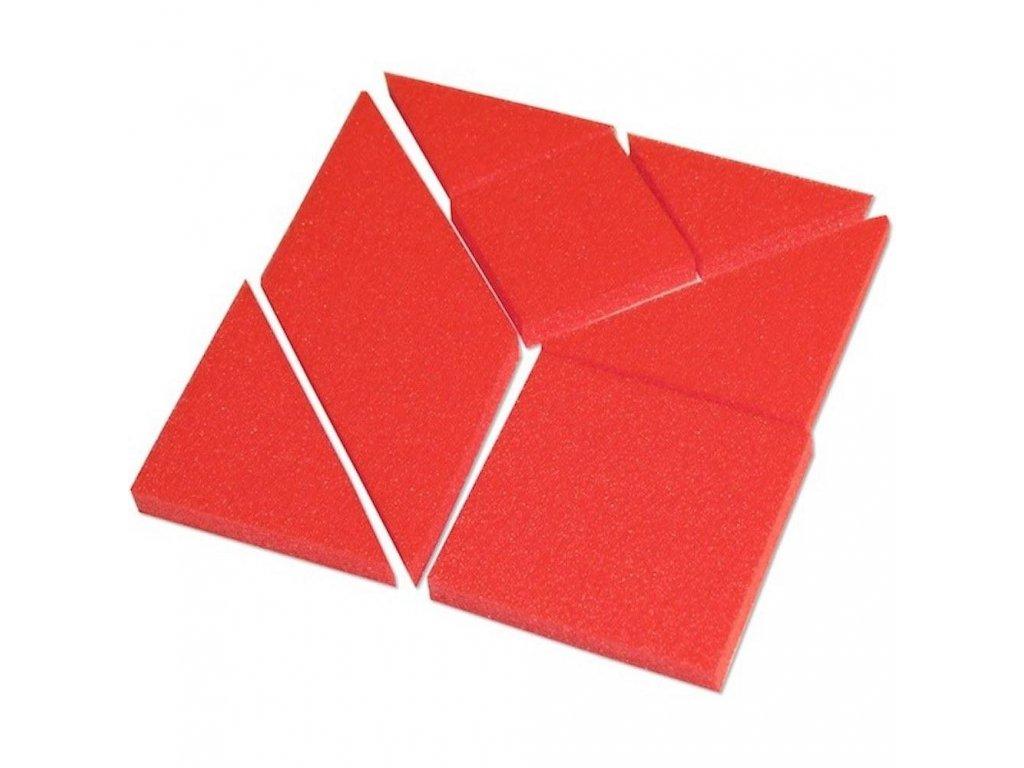 Penový Pifagor didaktická hra hlavolam penové hračky tangram malypretekar