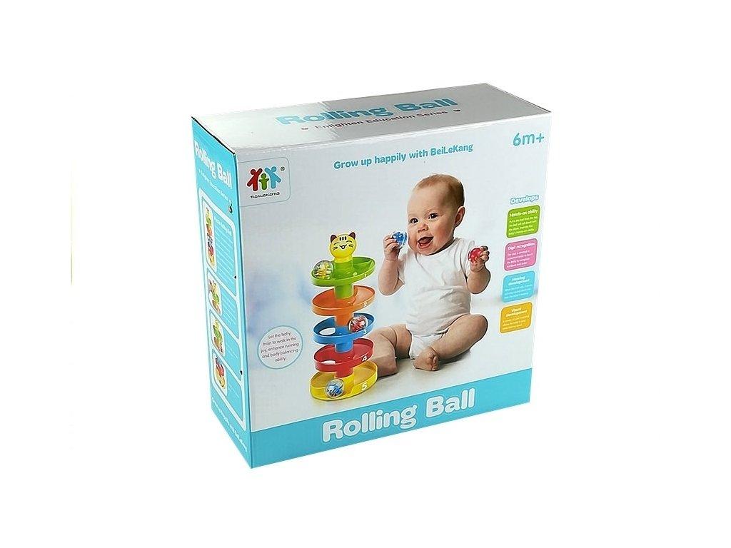 Rolling Ball guličková dráha BABY CAT (2)