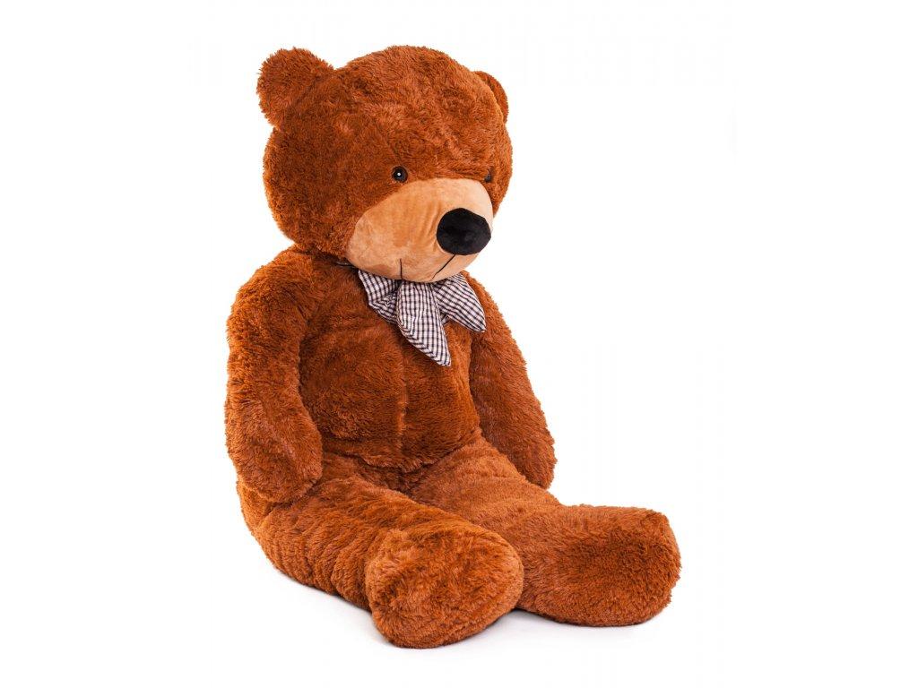 Plyšový medveď Macko uško 160 cm vysoký hnedý