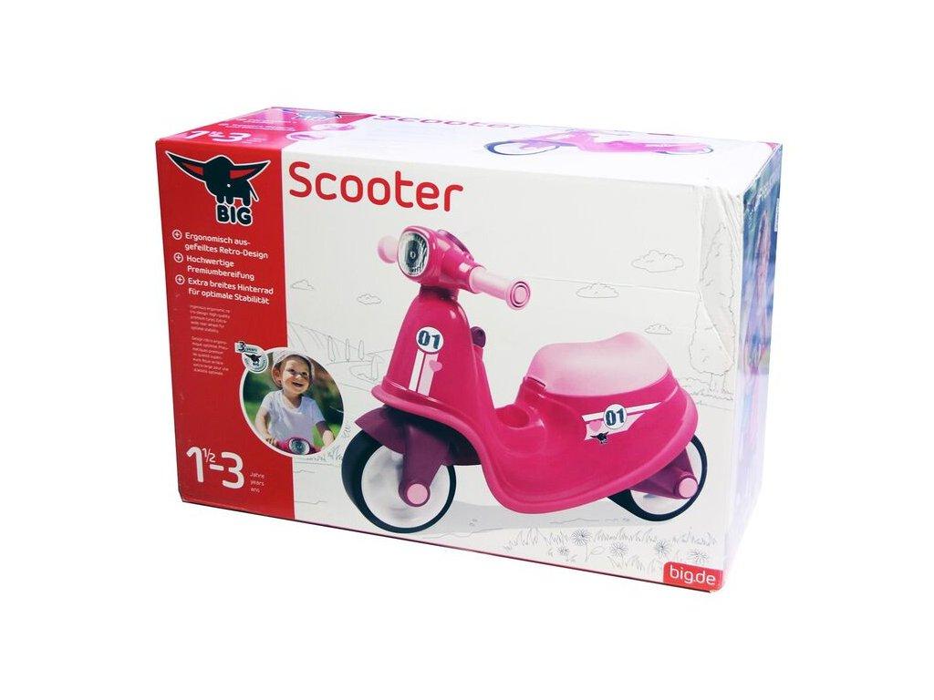 BIG Classic Scooter malypretekar liesek big nemecká značka dievčenské odrážadlo 1 03