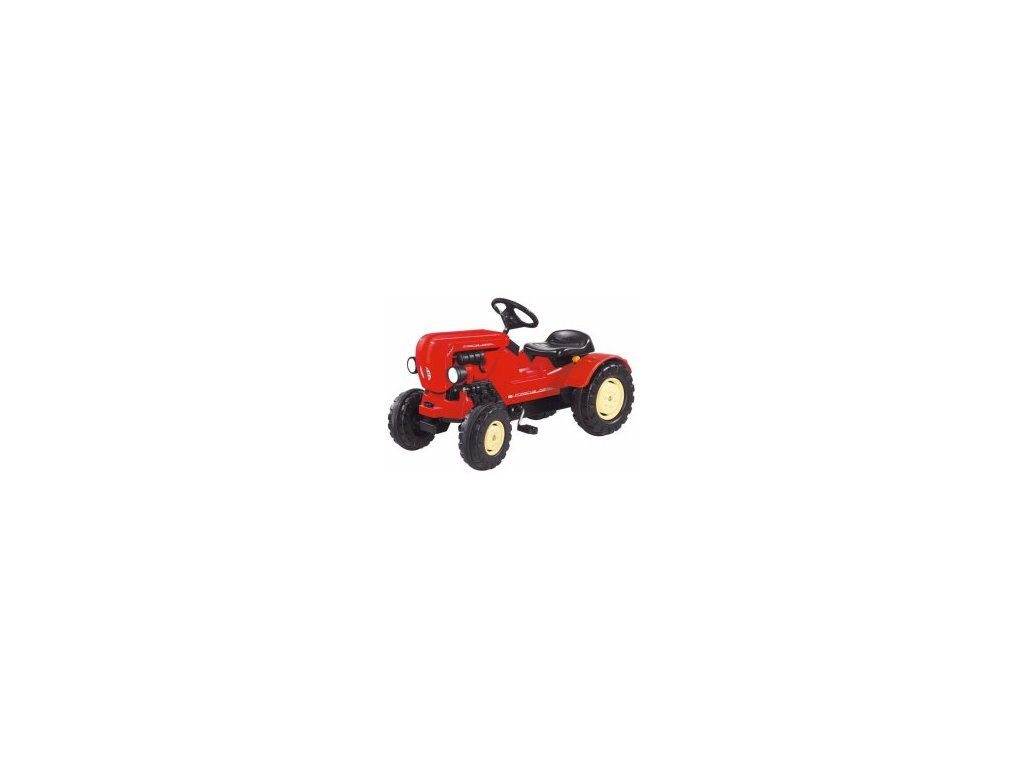 Šliapací traktor Porsche Diesel Junior malypretekar liesek hračky zetor new holland šliapacie traktory sliapacie vozidlá (1)