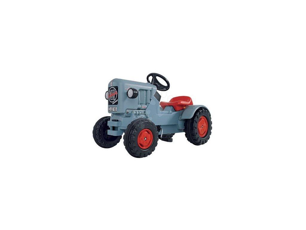 Šliapací traktor Traktor na pedále Eicher Diesel ED 16 BIG nemeský výrobok (6)