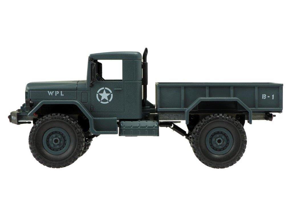RC Vojenské vozidlo Military 116 lesné RC vozidlo vojenské auto na diaľkové ovládanie (4)