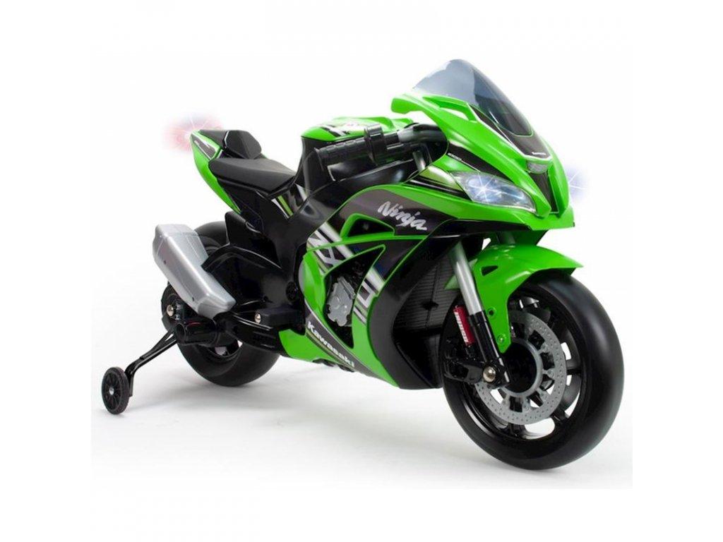 01 kawasaki elektricka motorka 12v injusa