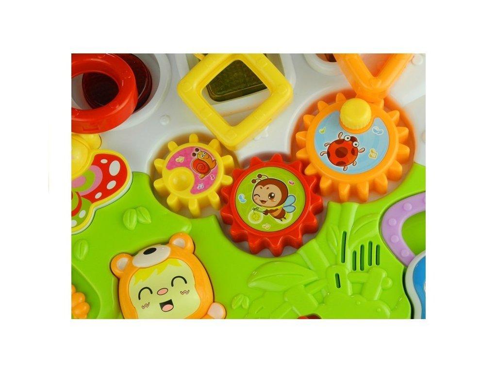 Chodítko s multifunkčným panelom malypretekar liesek hračky chodítka chodák posúvač