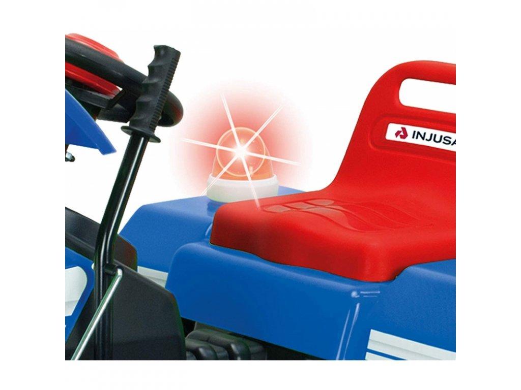 Injusa Elektrický traktor Dump 12 V malypretekar hračky hračkárstvo traktor na batériu 01
