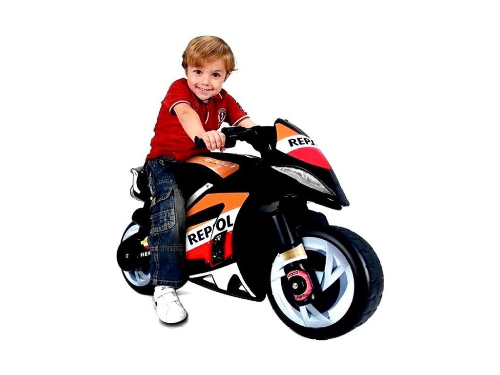 INJUSA Elektrická motorka RESPOL 6V malypretekar do 30 kg španielska značka (1)