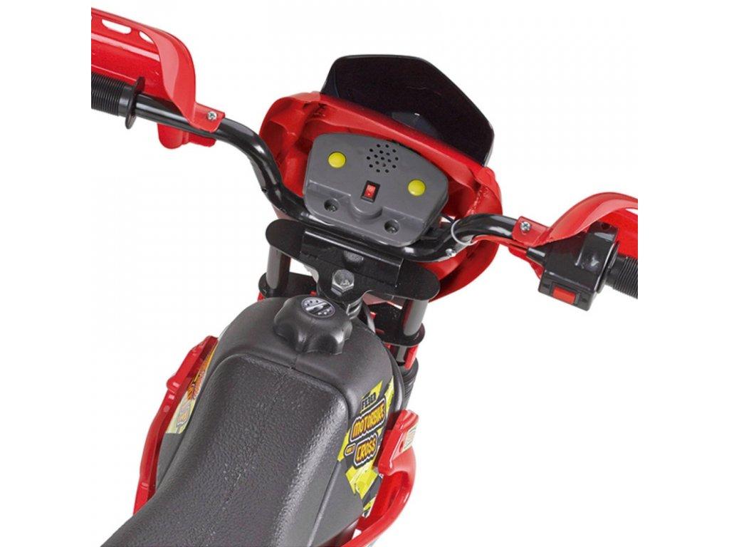 Feber Elektrická motorka Cross 400F 6V malypretekar motorka na batériu nosnosť 25 kg (5)