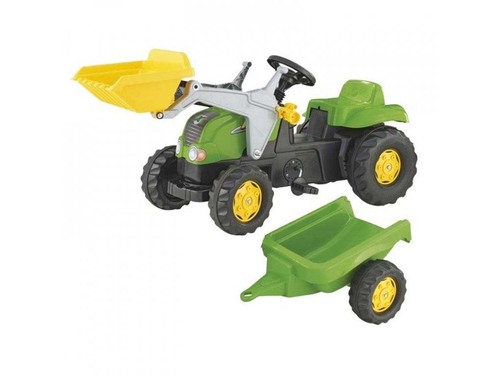 Rolly Toys Traktor na pedále do 30 kg malypretekár (2)