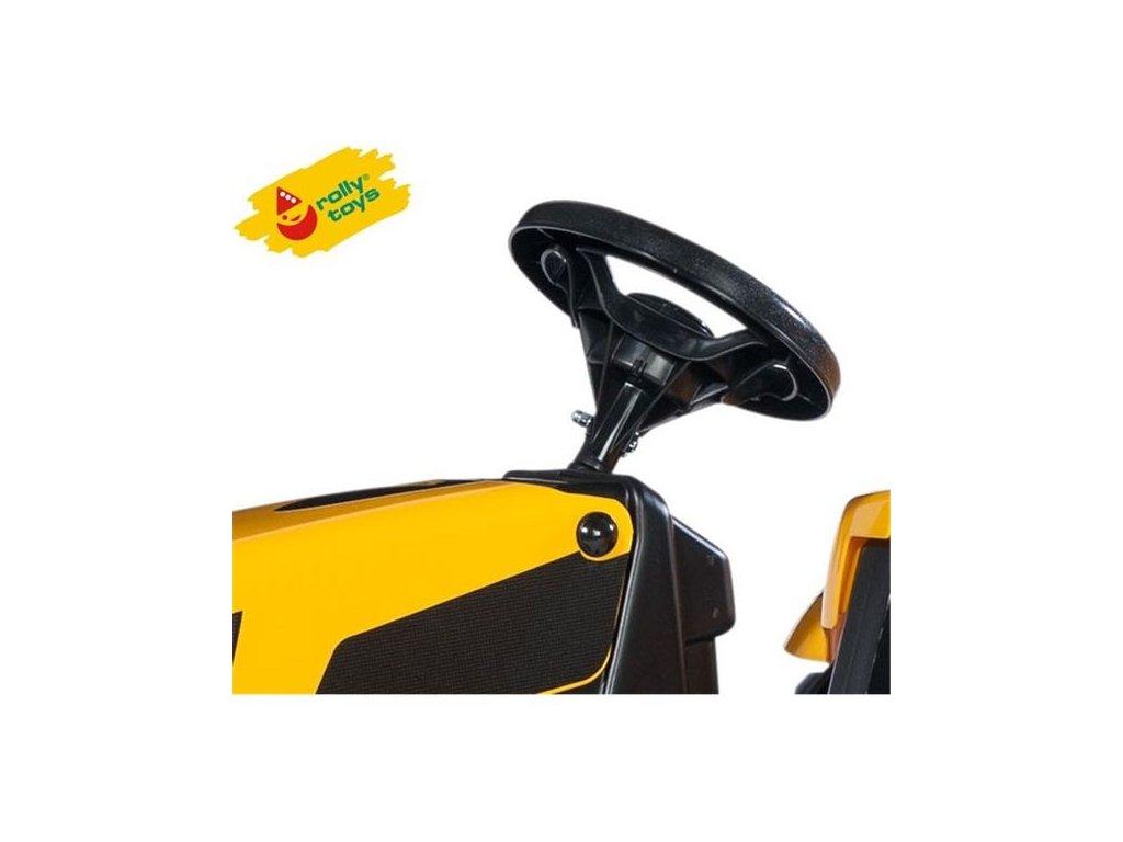 Rolly Toys rollyKid Traktor na pedále JCB malypretekar (5)