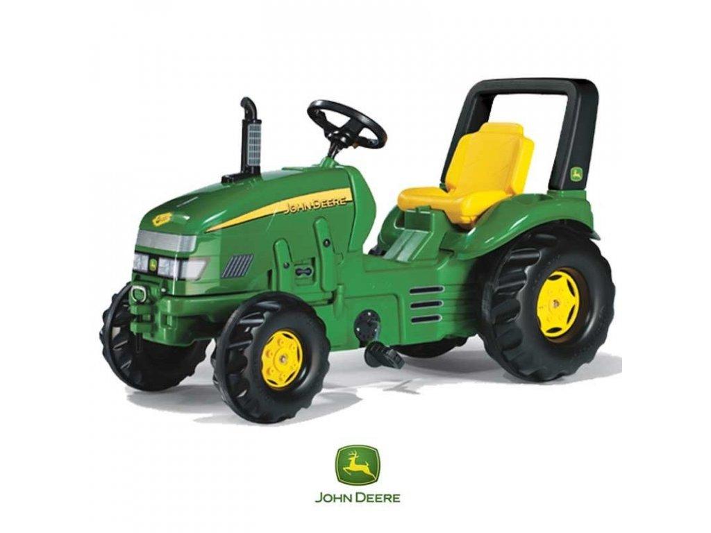 Rolly Toys Šliapací traktor X Trac John Deere malypretekar (3)