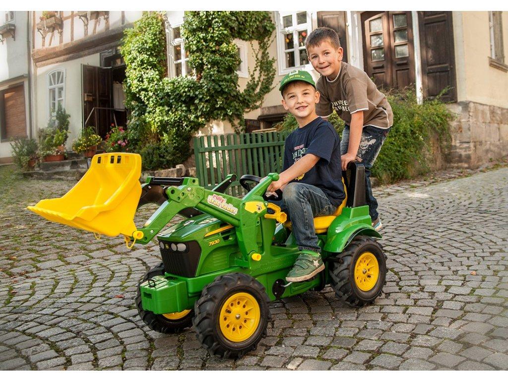 Rolly Toys rollyFarmTrac John Deere 7930 malypretekar nafukovacie kolesá doprava zdarma (8)