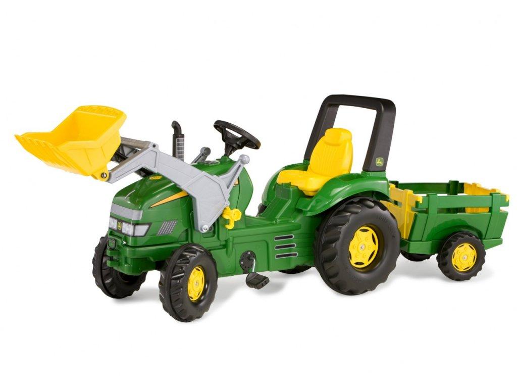 Rolly Toys Traktor na pedále rollyX Trac John Deere malypretekar (1)