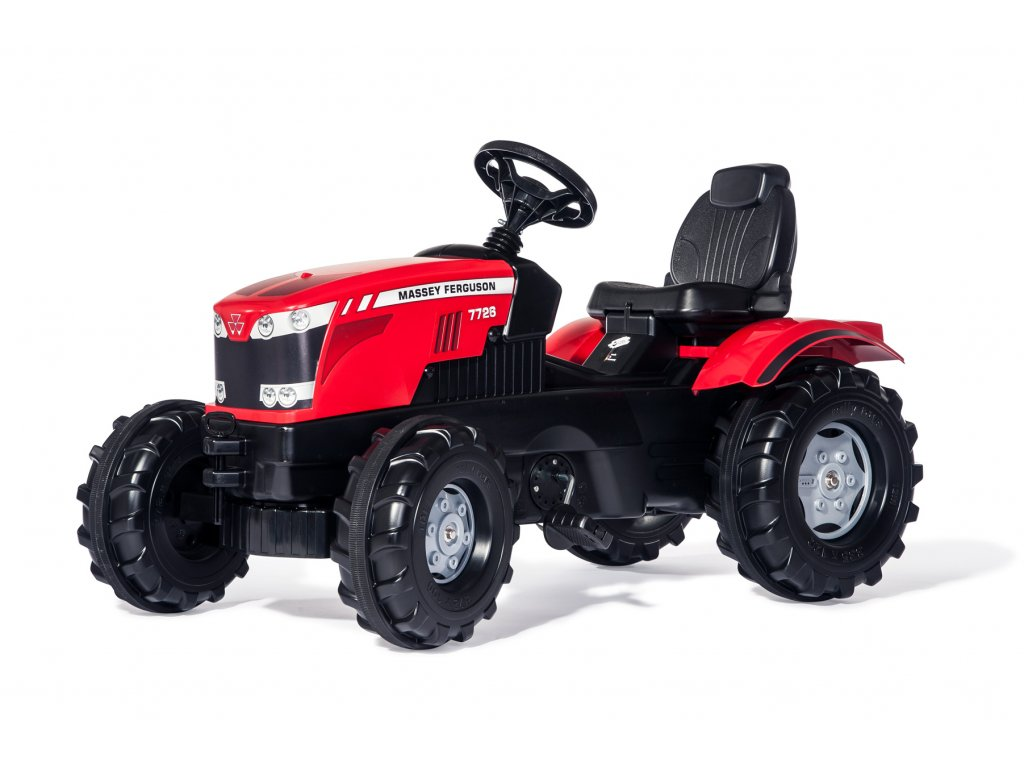 Rolly Toys rollyFarmtrac Traktor na pedále MASSEY FERGUSON 7726 malypretekar (1)