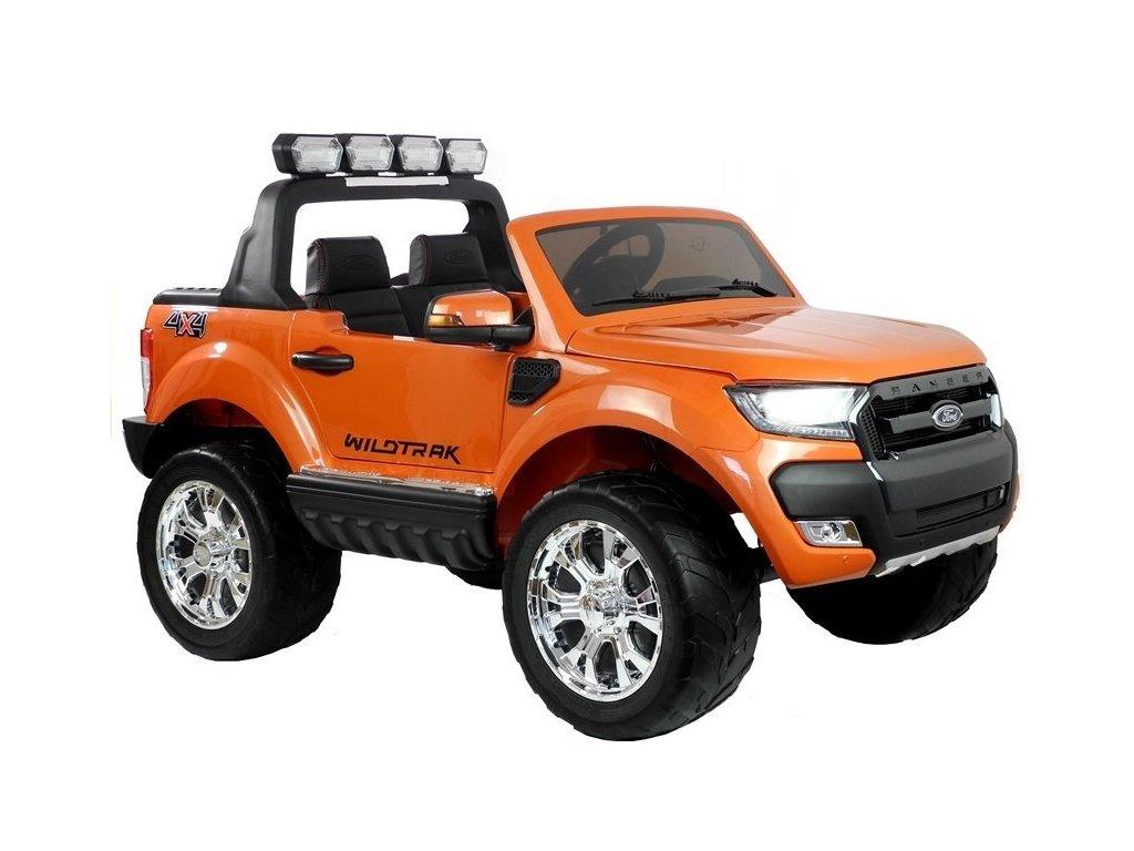 Elektrické auto Ford Ranger Wildtrak 4x4 Oranžový Lak