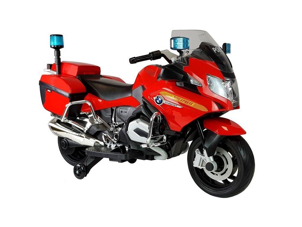 Elektrická motorka BMW R1200 Police Červená