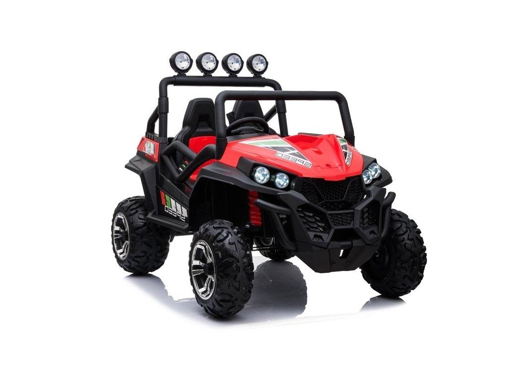 Elektrické auto Buggy S2588 Červené