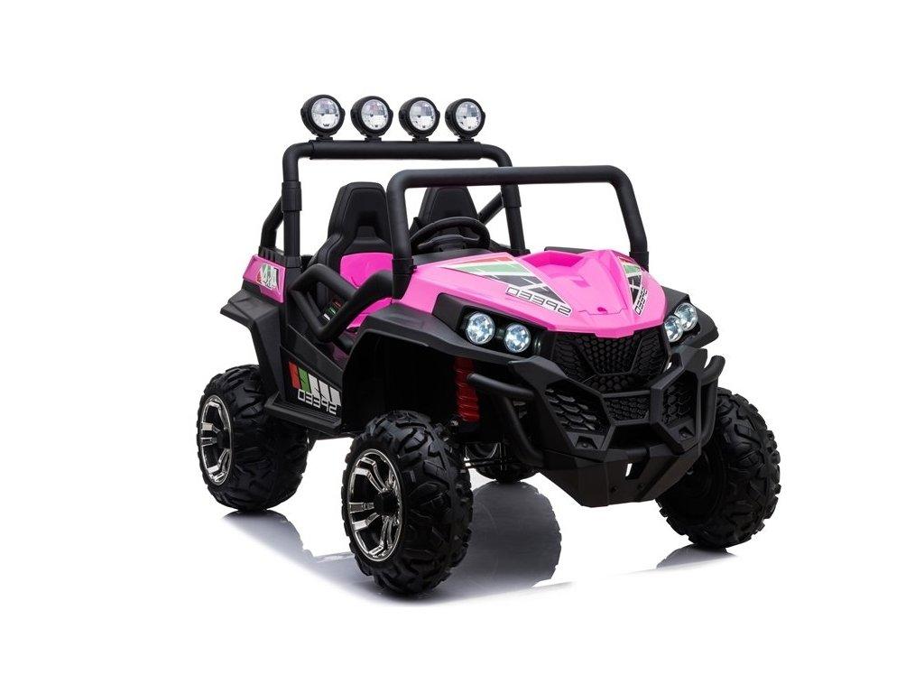Elektrické auto Buggy S2588 Ružové