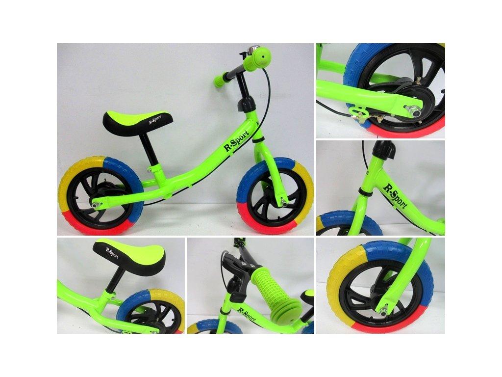 FotoJetDetské bicyklové odrážadlo R6
