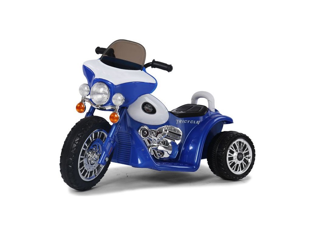 Elektrická motorka Chopper malypretekar 01