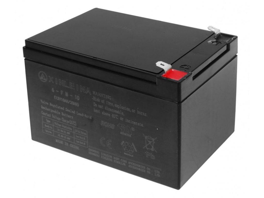 Batéria 12 V 10 Ah malypretekar