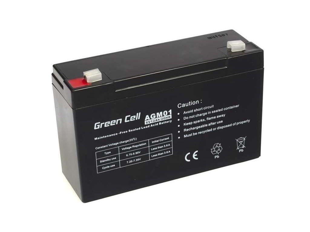 Batéria 6 V12 Ah
