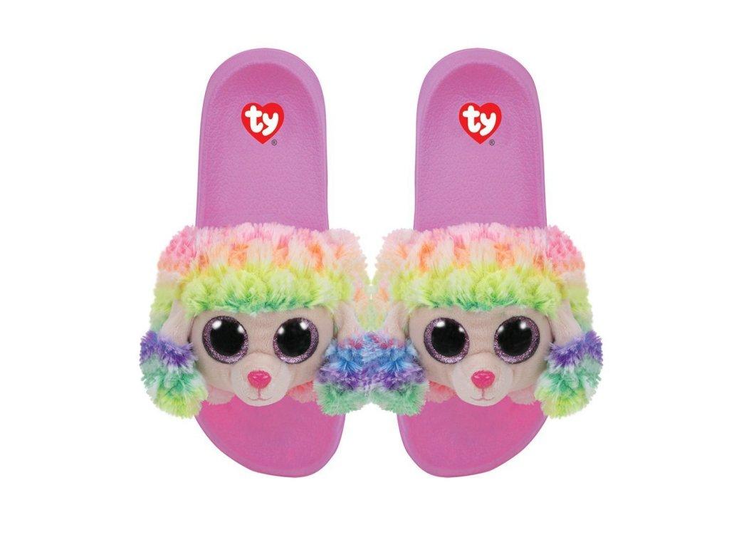 TY Fashion Detské šľapky RAINBOW malypretekar
