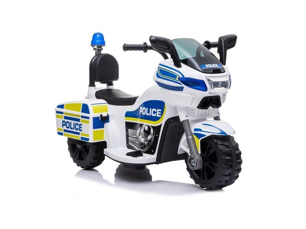Elektrická policajná motorka TR1818 malypretekar (1)