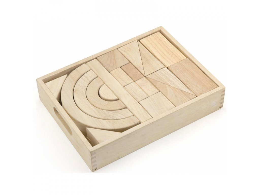 Viga Toys Drevené kocky 42 prvkov malypretekar (2)