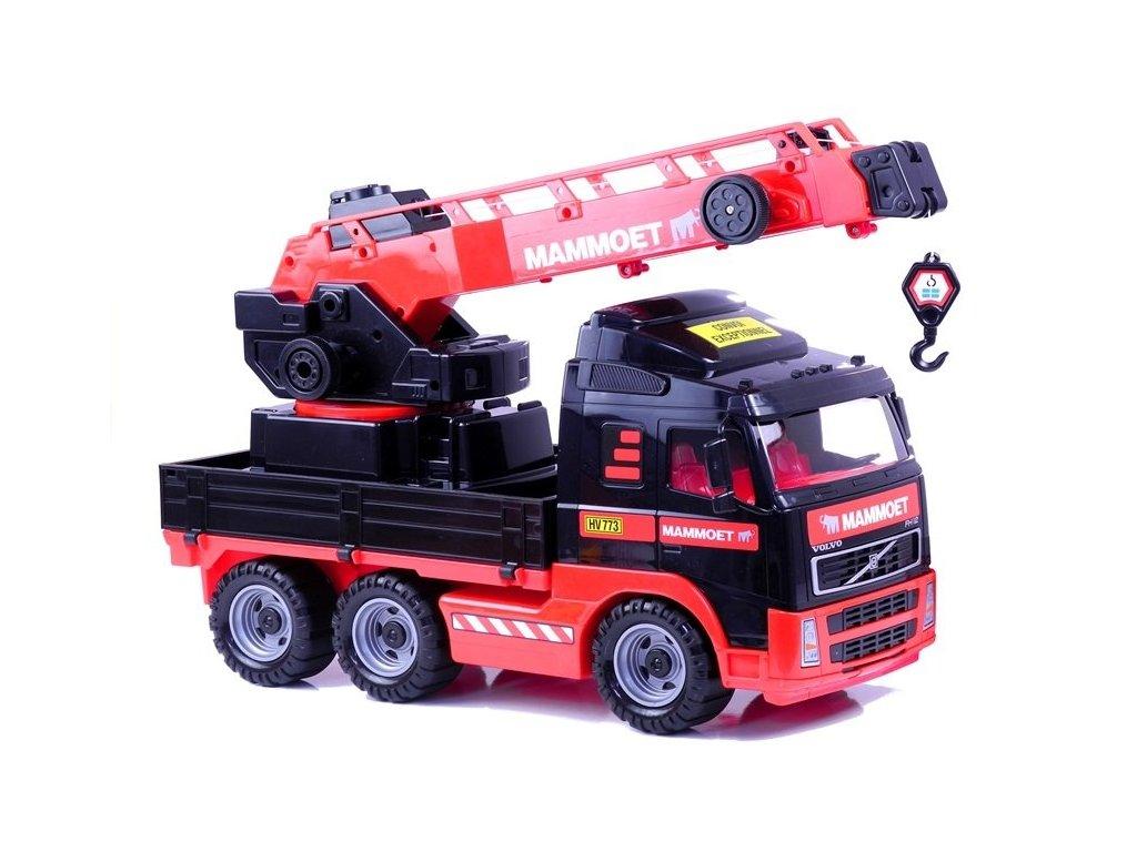 Wader Nákladné vozidlo so žeriavom Mammoet malypretekar (1)