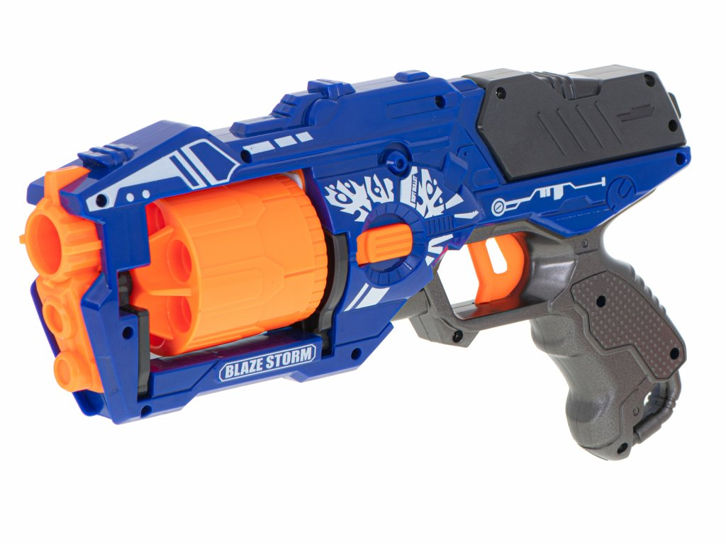 BLAZE STORM Puška so zásobníkom + 20 penových nábojov malypretekar (2)