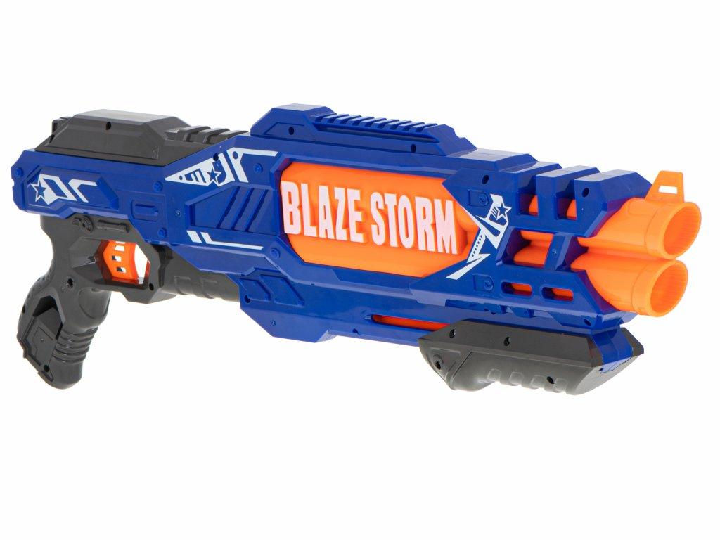 BLAZE STORM Detská puška MEGA + 20 penových nábojov malypretekar (5)
