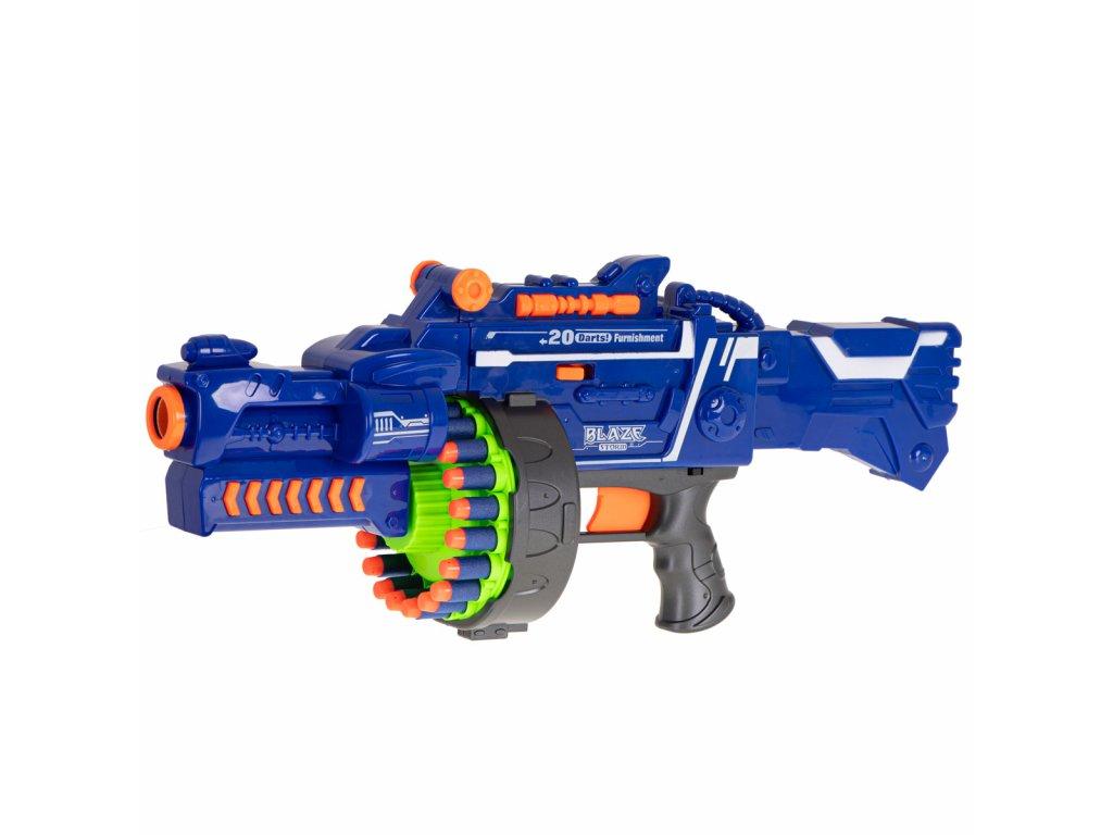 BLAZE STORM Detský guľomet + 40 penových nábojov malyprtekar (3)