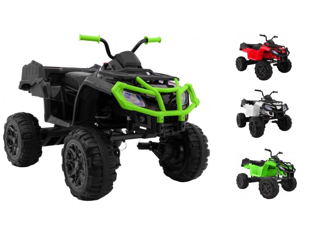 Elektrická štvorkolka XL ATV 4x4 kolesá EVA ekologické sedadlo malypretekar (1)