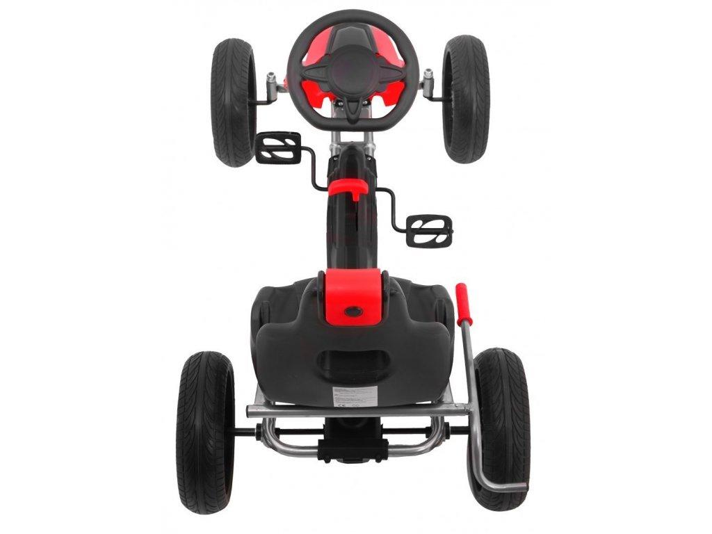 šľapacia kára F3 modrá červená malypretekar kolesá EVA nosnosť do 55 kg. 6