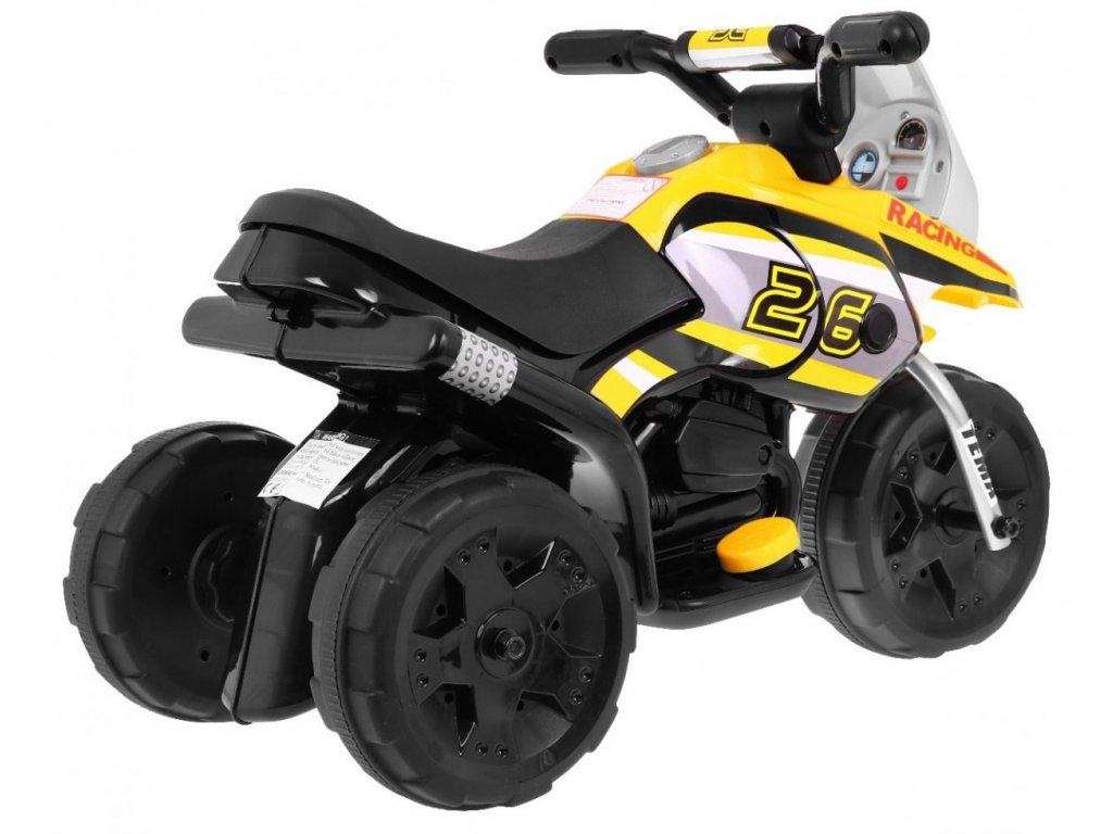 Elektrická motorka S MINI malypretekar 11