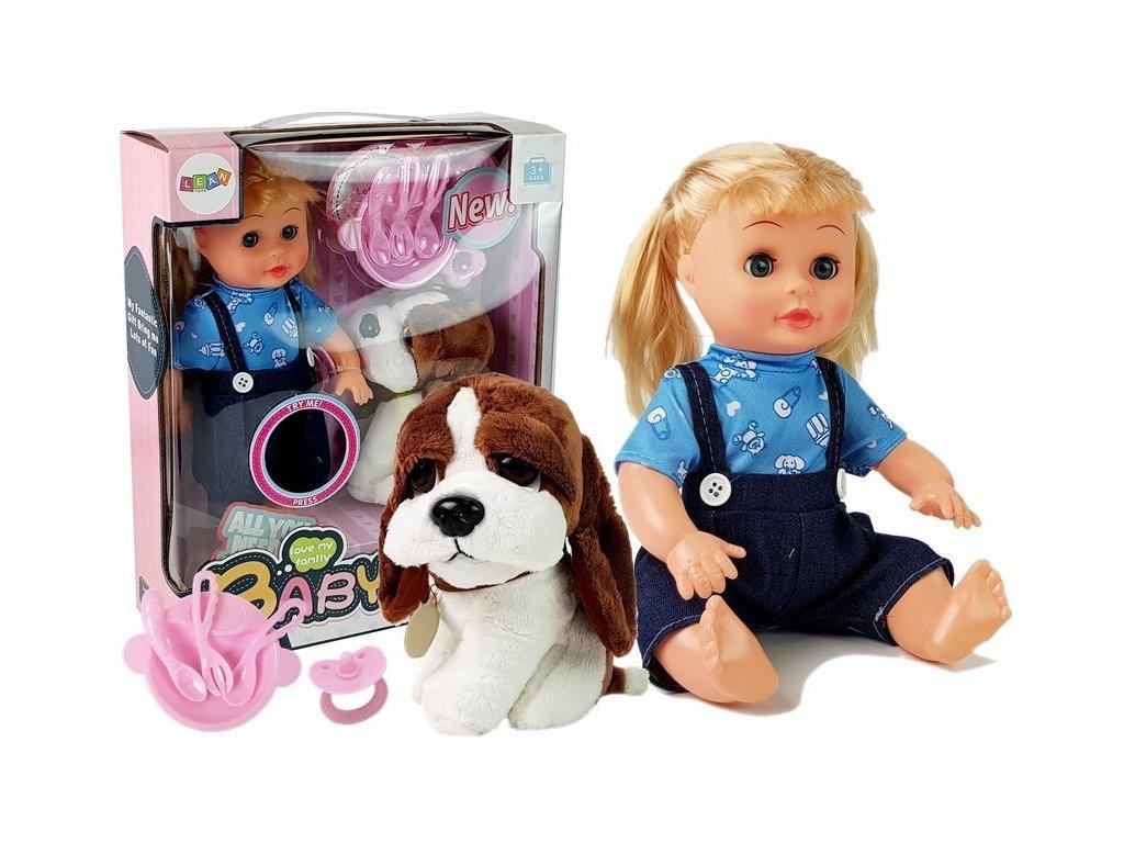 BABY Bábika so psíkom BRUNO (1)