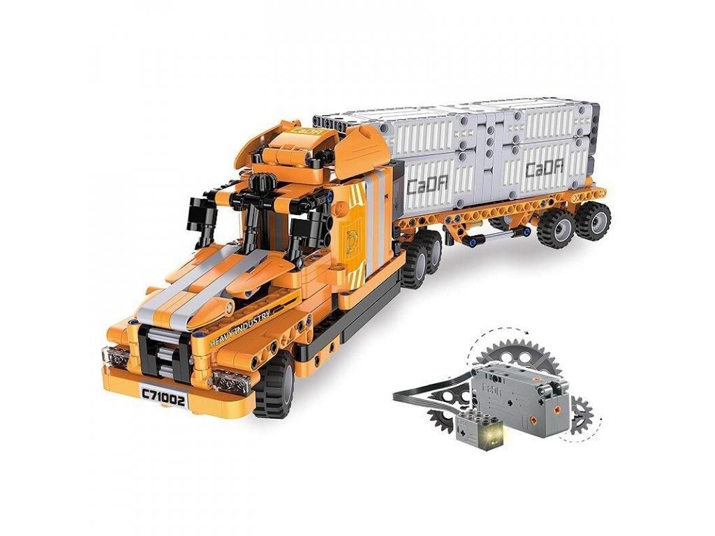RC CADA TECHNIC Stavebnica Inžinier 10 modelov 634 kusov dielov malypretekar lego stavebnica hracky rc modely (1)