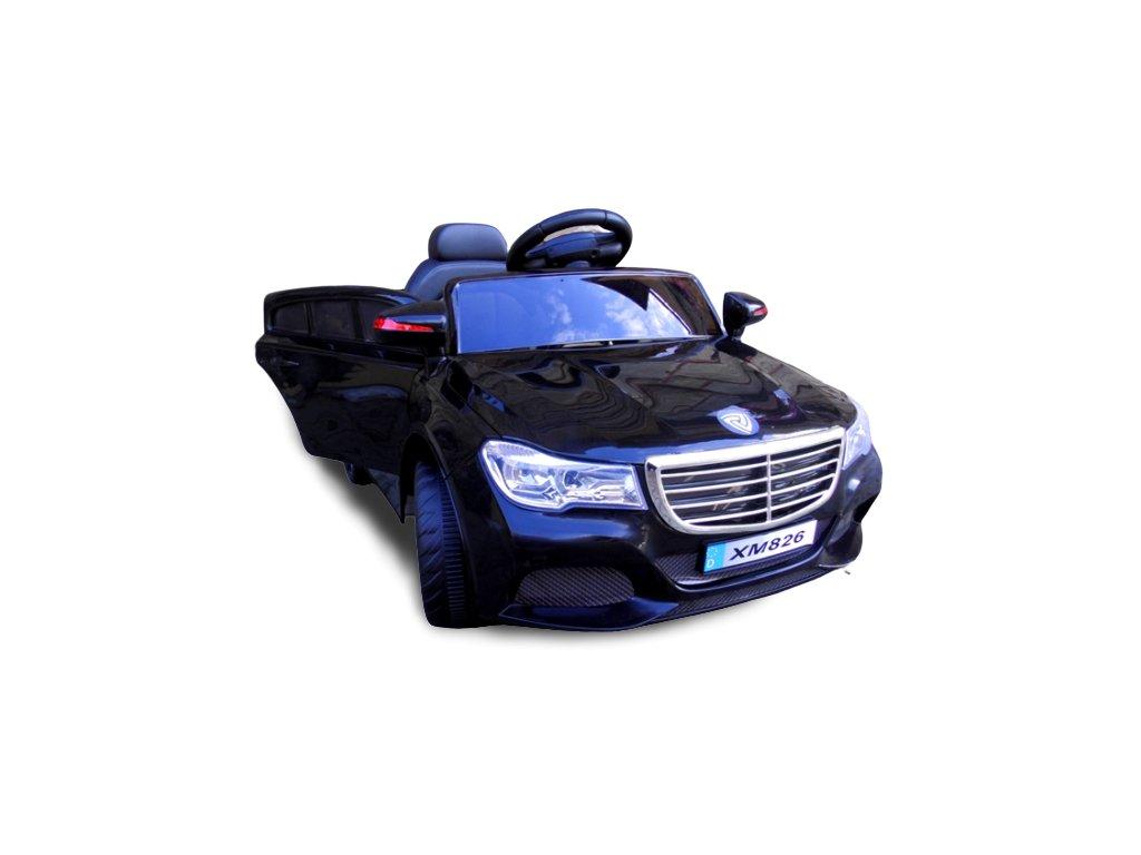 elekltrické auto cabrio b5 čierne červené biele