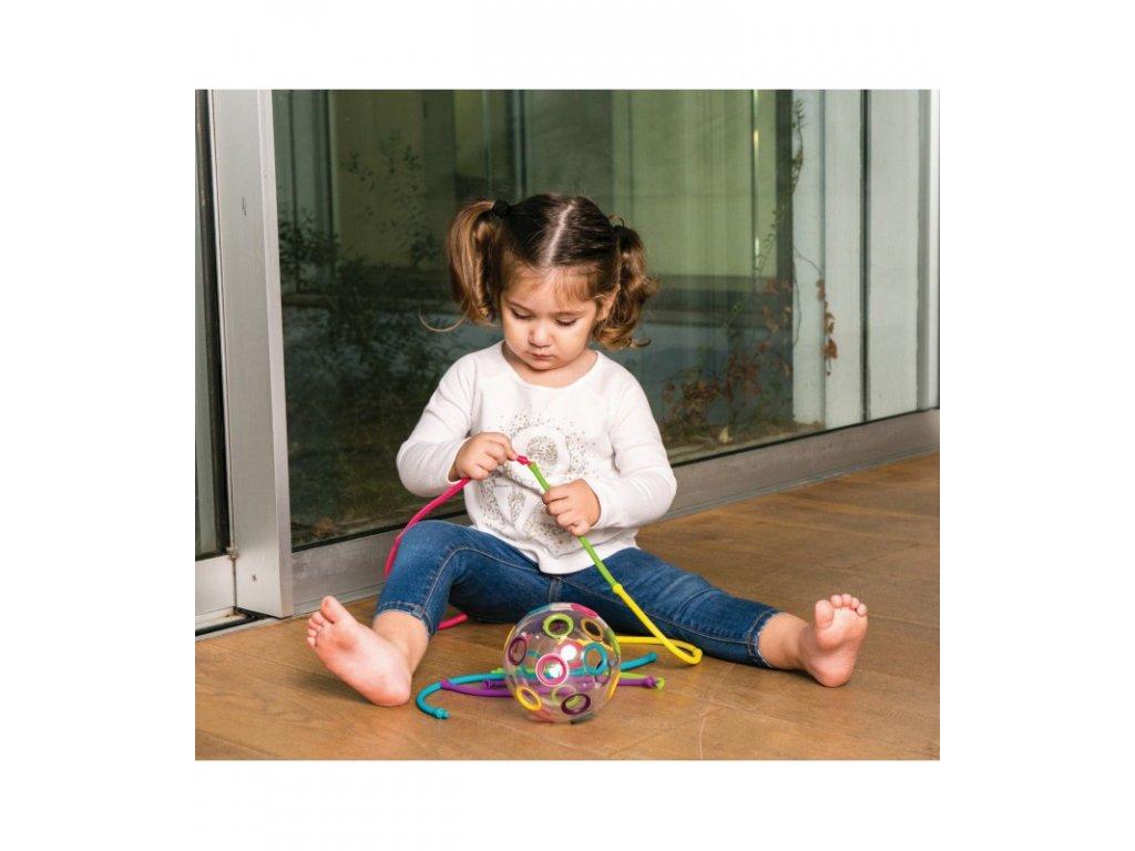 EDUSHAPE Manipulačná senzorická lopta (1)