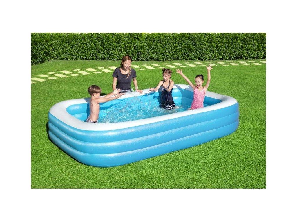 BESTWAY Nafukovací bazén 305 cm x 183 cm x 56 DELUXE 54009 (3)